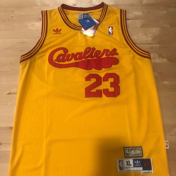 the best attitude 185d3 8f731 Lebron James Jersey Cavaliers Hardwood Classic NWT